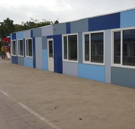 Tijdelijke klaslokalen Gemeente Zoetermeer