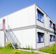 Gebouwenmarkt.nl plaatst binnen twee weken tijdelijk gebouw voor opvang asielzoekers in Duitsland